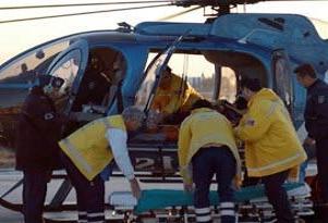 Hava ambulansı hayat kurtardı.14583