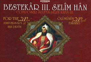 Bestekar III.Selim Han'ın yeni CD'si.13025