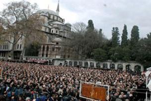 Doğu Türkistan için cenaze namazı.16029