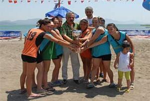 Gazi'de kız-erkek yok, sporcu var.14908