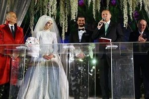 Cumhurbaşkanı Erdoğan nikah şahidi oldu.26624