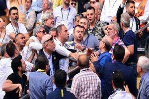 Fenerbahçe kongresinde büyük kavga.33966