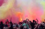 Galatasaray ma��nda �ok g�r�nt�ler